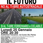 2016.01.25 Parma - Sì al TI-BRE ferroviario e ciclabile - Locandina-programma