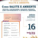 2016.04.16 Campobasso - IV Giornata Molisana Ambiente e Salute - Manifesto